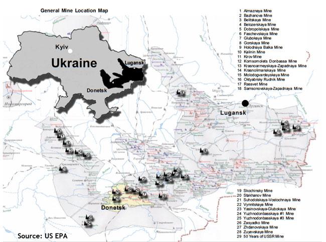 Ukraine Natural And Economic Resources - Maps ukraine to us